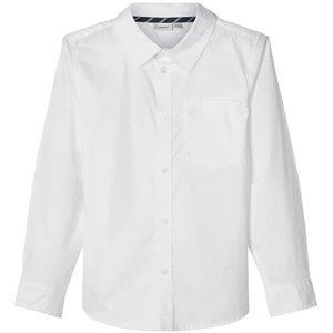 NAME IT jongens overhemd bright white