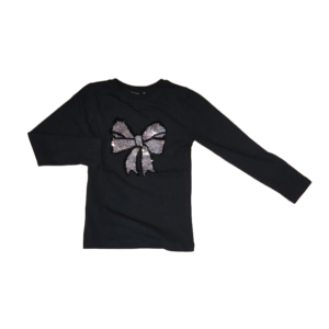 NAME IT meisjes blouse black