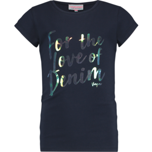 VINGINO meisjes t-shirt dark blue