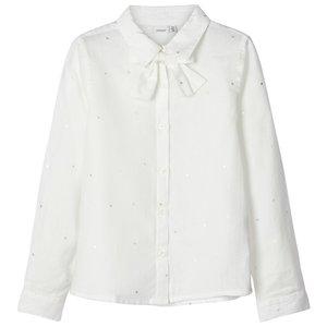 NAME IT meisjes blouse snow white
