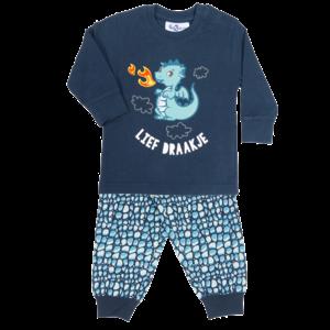 FUN2WEAR meisjes pyjama lief draakje dress blues