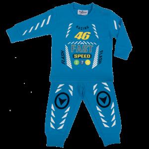 FUN2WEAR jongens pyjama racing 46 french blue