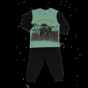 FUN2WEAR jongens pyama tractor black