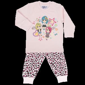 FUN2WEAR meisjes pyjama amazing girls cradle pink