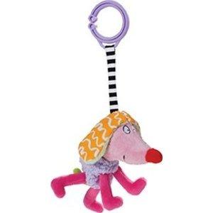 TAF TOYS Kooky dog pink/orange