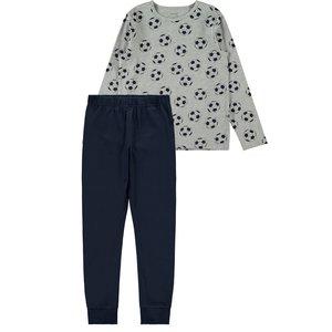 NAME IT jongens pyjama grey melange