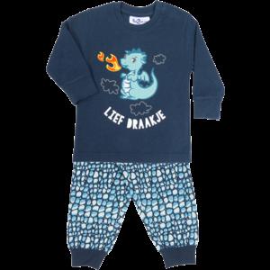 FUN2WEAR jongens pyjama lief draakje dress blues