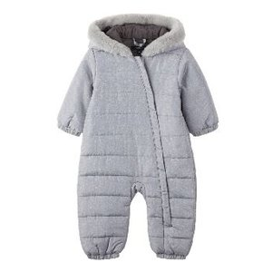NAME IT meisjes snowsuit grey melange