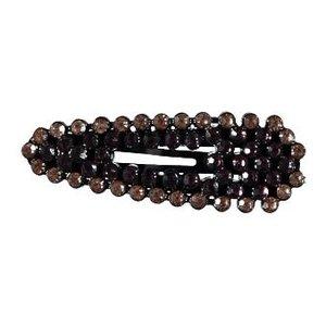 NAME IT meisjes haarclip black plum