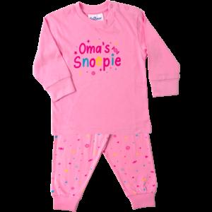 FUN2WEAR meisjes pyjama pink oma
