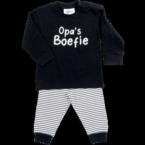 FUN2WEAR jongens pyjama black opa