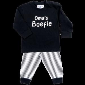 FUN2WEAR jongens pyjama black oma