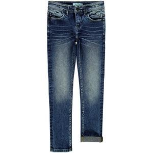 NAME IT jongens skinny all over broek dark blue denim pete noos