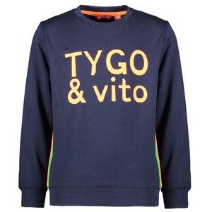 TYGO & VITO jongens trui navy