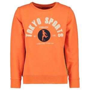 TYGO & VITO jongens trui shocking orange