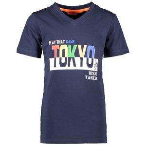 TYGO & VITO jongens t-shirt navy tokyo
