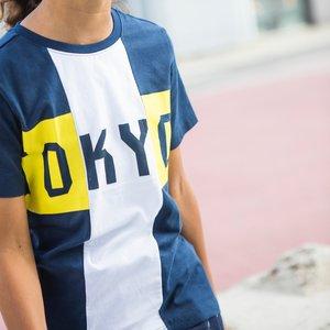 TYGO & VITO jongens t-shirt navy