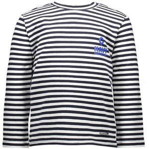 LE CHIC jongens longsleeve stripes garçon blue navy