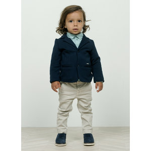 LE CHIC jongens blazer sweat garçon blue navy
