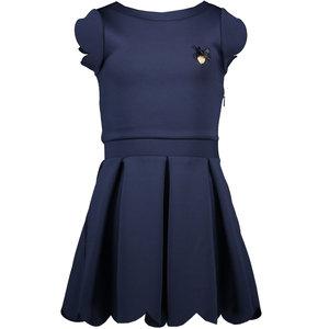 LE CHIC LE CHIC meisjes jurk blue navy