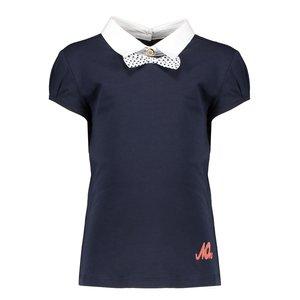 Nono meisjes t-shirt navy blazer karli