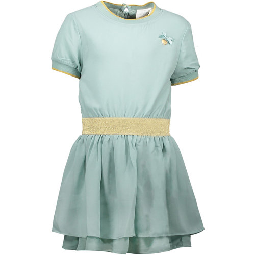 LE CHIC LE CHIC meisjes jurk fancy voile shade of jade
