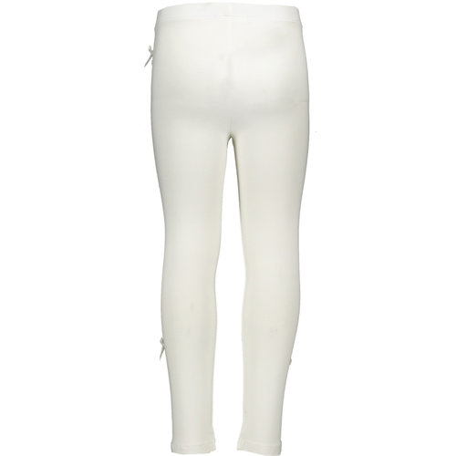 LE CHIC LE CHIC meisjes legging rhinestone at sides off white