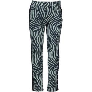 LE CHIC meisjes legging zebra chic shade of jade