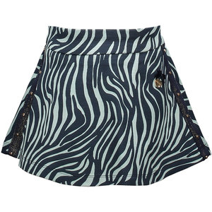 LE CHIC meisjes rok zebra chic shade of jade