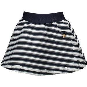 LE CHIC meisjes rok stripe blue navy