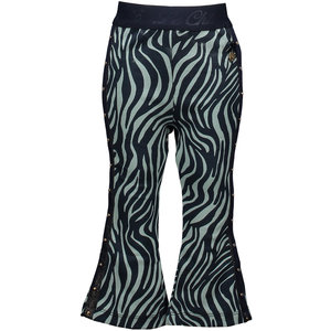 LE CHIC meisjes broek zebra chic shade of jade