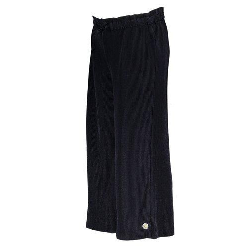 MOODSTREET MOODSTREET meisjes plissé broek dark blue