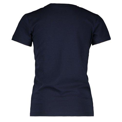MOODSTREET MOODSTREET meisjes t-shirt navy