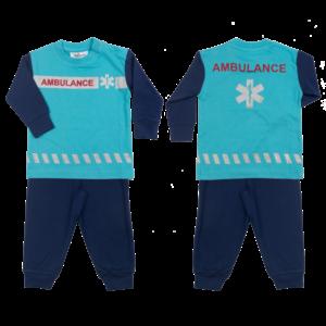 FUN2WEAR FUN2WEAR jongens pyjama ambulance