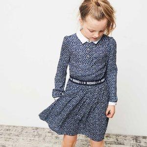Nono meisjes jurk navy blazer maila