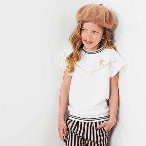 Nono meisjes t-shirt optical white kamba