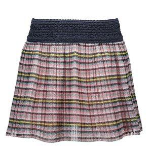 B.NOSY meisjes rok multi stripe glitter
