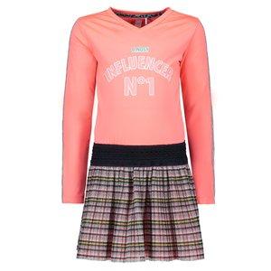 B.NOSY meisjes jurk peach glo