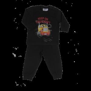 FUN2WEAR jongens pyjama black