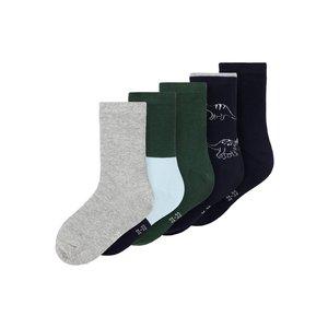 NAME IT jongens 5 paar sokken greener pastures