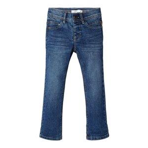 NAME IT jongens slim fit jeans broek medium blue denim
