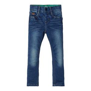 NAME IT jongens x-slim all over broek noos medium blue denim