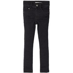 NAME IT meisjes skinny fit all over jeans black denim