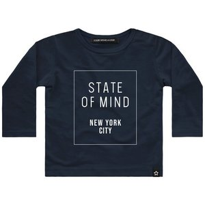 YOUR WISHES longsleeve navy state of mind