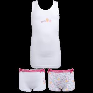 FUNDERWEAR meisjes ondergoed set white