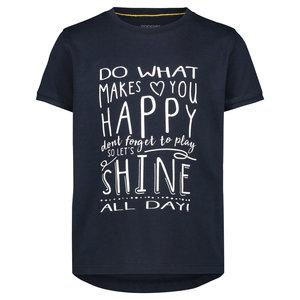 NOPPIES meisjes t-shirt dark sapphire chrest hill