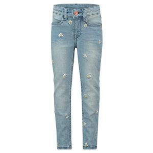 NOPPIES meisjes broek medium blue denim cupertino