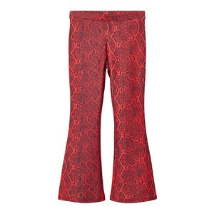 NAME IT meisjes trish bootcut broek high risk red