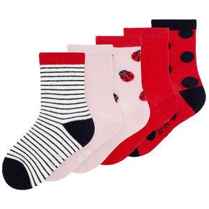NAME IT meisjes vinni 5p sokken pink nectar