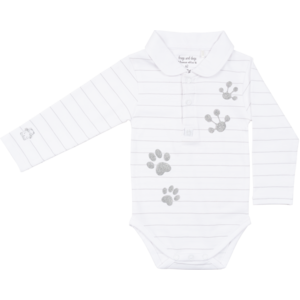 Frogs and Dogs meisjes romper white